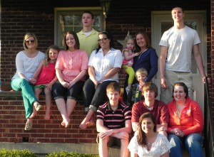 Some of the Heile cousins!
